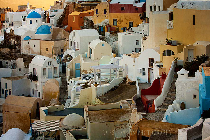 Homes of Santorini